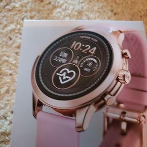 Michael Kors smart watch pink